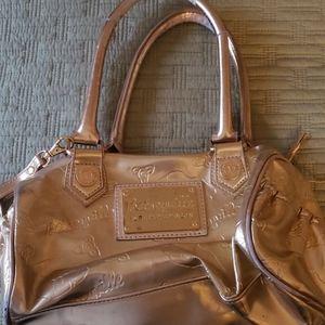Gold Betseyville satchel purse